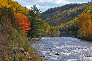 Little White River, at Bailey bridge (Deer Trail scenic drive between Iron Bridge and Elliot Lake)