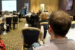 Supply Teachers' Seminar (nasuwt_union) Tags: nasuwt education conference woman man black white speaking stand hall meal drinks happy members workshop pesident birmingham banner meeting stage positive portrait guidance crowd teachers leaders lectures students awards executive staff show tell help advice support listen adults people england scotland northern ireland wales strong women men insturction health safetly wellbeing classroom school college university table voting union best brilliant workplace seminar