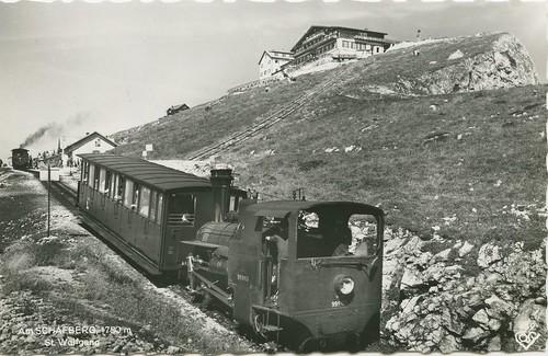 SCHAFBERGBAHN - Estación superior (Schafberg)