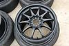 DSC_0417-2 (Blazedd) Tags: black color wheel stem wheels tire racing tires special valve stems rays volks rims 42 rs2 tyres matte tyre volk blk blazed hankook valvestem ce28n ce28 16x7 blazedd