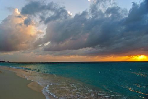 Seven Mile Beach near Sunset