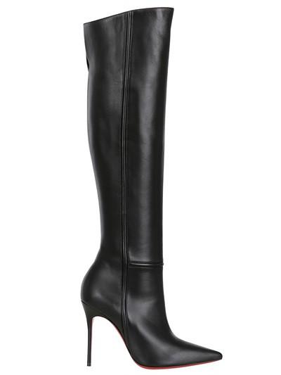 e6404173f CHRISTIAN LOUBOUTIN 100MM ARMURABOTTA NAPPA LEATHER BOOTS Fashion Fall  Winter 2013-14 (xecereterys)