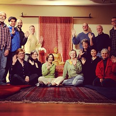 The Seattle Sangha for the Urban Retreat Metta wave #urbanretreat