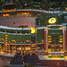 Lambeau Stadium at Twilight