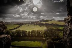 View From The Ramparts (Scrufftie) Tags: uk england castle canon unitedkingdom newport isleofwight lightroom englishheritage carisbrookecastle canonef24105mmf4lisusm canon5dmkii