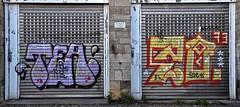HH-Graffiti 1744 (cmdpirx) Tags: street urban color colour art public wall writing painting graffiti mural paint artist tea space raum wand character kunst strasse tag hamburg can spray crew hh writer hiphop hip hop piece aerosol zo 1973 bombing 73 legal wildstyle künstler fatcap öffentlicher