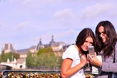 Pont des Arts, Paris, France (ks2000highspeed) Tags: paris france nikon  f12 pontdesarts d90    ai50mm