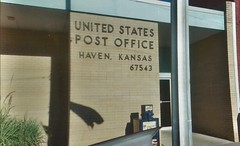 18. Post office, Haven, 9 5 04 (leverich1991) Tags: haven 2004 hope exploring north mount harvey kansas patterson reno newton hutchinson sedgwick yoder halstead hesston burrton