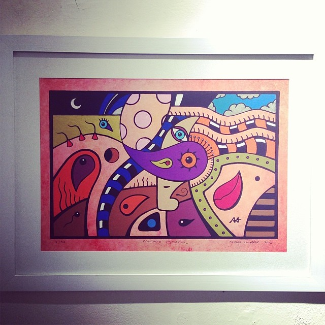 "Sergio Valverde • ""Colectiva de Fin de Año"" #art #arte #artinlima #arteenlima #gallery #galeria #brunogallery #muestra #artist #artista #pintura #painting"
