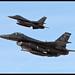 F-16C's 85-1560 and 85-1551 ED - USAF