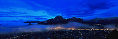 Blue Morning Magic at Sedona (Andrew Louie Photography) Tags: morning blue arizona snow vortex tree fog reading town foods vegan healthy raw chocolate pano magic sedona jazz center panoramic pizza organic spiritual healing epic chocola clense picazzo