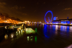Over the Thames (Pranavian) Tags: road city longexposure london night lights lowlight cityscape capital nighttime aaronpickett pranavian