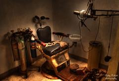 Dr. Wright's 1920s dental office (Pattys-photos) Tags: office montana dental havre havreunderground