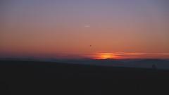 Bridgewater Sunrise (16X9) (Daniel Feivor) Tags: morning pink mountains sunrise landscape virginia colorful purple appalachian blueridge bridgewater