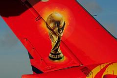 OY-RUE (FIFA) (Steelhead 2010) Tags: fifa cocacola yyz mcdonnelldouglas md83 oyreg danishairtransport oyrue