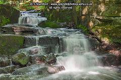 Lumsdale and the dragon (splendid_photography_UK) Tags: water pool landscape waterfall moss stream dragon fantasy gorge lumsdale
