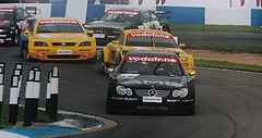 "DTM @ Donington Park - 2002 (sjs.sheffield) Tags: park 2002 film car mercedes championship may racing german audi dtm touring opel motorsport deutsche donington tourenwagenmeisterschaft"" 190502 doningtonparkuk sjssheffield"