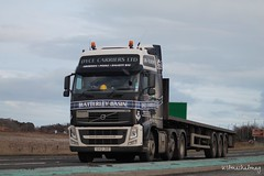 Dyce Carriers Aberdeen Volvo FH SV12 JXO (Kilmachalmag) Tags: aberdeenshire aberdeen trucks a9 lorries haulage hgv rossshire lorrys alness a9alness