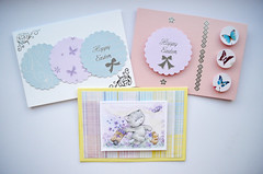 Easter Cards (capstick13) Tags: flowers kitten butterflies eastercard pastelcolours easter21st