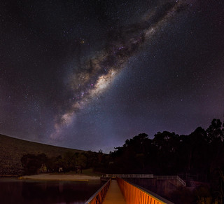 Milky Way before the Dawn