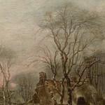 CAPPELLE Jan (van de),1653 - Paysage d'Hiver avec des Joueurs de Kolf (Custodia) - Detail 12 thumbnail