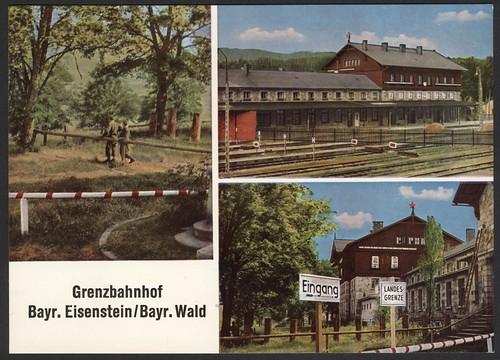 Grenzbahnhof Bayr. Eisenstein/Bayr. Wald