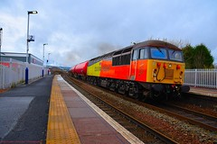 56302 @ Camelon (A J transport) Tags: 56302 colas class56 diesel freight trains railway scotrail