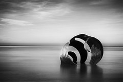 12/52: Mary's Shell (nickcoates74) Tags: marysshell cleveleys blackpool blackwhite blackandwhite bw lancashire fylde seaside coast sony nikcollection silverefexpro2 longexposure sea irishsea affinityphoto