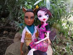 (Linayum) Tags: draculaura clawd clawdwolf mh monster monsterhigh mattel doll dolls muñeca muñecas toys juguetes linayum