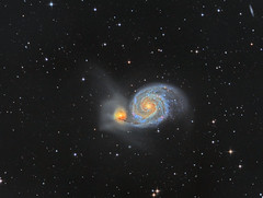 The Whirlpool Galaxy (Photonen-Sammler) Tags: m51 messier 51 galaxy stars space universe deep sky astronomy astrophotography long exposures stacked clear night astrometrydotnet:id=nova2012011 astrometrydotnet:status=solved