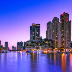 Blue Hour (Valter Patrial) Tags: blue hour marina dubai dxd cityscape city lights urban explore inexplore