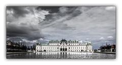 Belvédère de Vienne (jldum) Tags: monument ciel sky clouds vienne ville town travel voyage hdr etang water architecture ngc