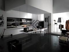 Gạch 60x60 đen siêu bóng