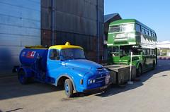 IMGP9083 (Steve Guess) Tags: cobham lbpt brooklands weybridge byfleet surrey england gb uk museum bus bmc bowser truck lorry fuel rmc aec routemaster green line