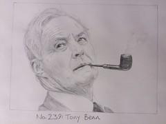 No.239: Tony Benn (Dame Warden) Tags: drawing portrait sketch tony benn