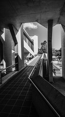 Ramp (enricoimages) Tags: brutalism architecture blackandwhite colin madigan