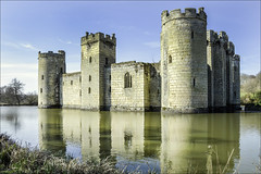 Bodiam Reflections (Elaine 55.) Tags: bodiamcastle reflections nationaltrust sussex eastsussex