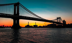 Falling the afternoon on the Manhattan Bridge. (The city guy ☺) Tags: manhattanbridge newyork bridge afternoon walking waterways walkingaround walkinginthecity colors cityscapes outdoors urban urbanexploration