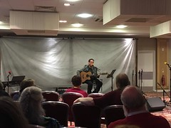 Chris Conway at Quoi De Neuf 29th UK Filk Convention (unclechristo) Tags: chrisconway filk