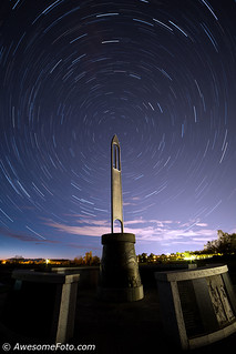 Startrails with the Needle (2)