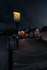 Great Glen - Shelter from the storm (pvizdal_photo) Tags: village greatglen leicester eveninglight street streetphoto
