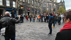 Edinburgh Street Entertainer (ianharrywebb) Tags: iansdigitalphotos edinburgh scotland