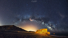 Aphrodite's Arch (Alex Apostolopoulos) Tags: aphroditesrock arch galaxy longexposure milkyway nightphotography nightscape panoramic stars night sky panorama cyprus sony sonya6000 ilce6000 samyang samyang12mmf20ncscs manfrottobefree