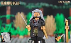 Custom LEGO The Walking Dead: King Ezekiel (LegoMatic9) Tags: the walking dead king ezekiel