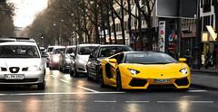 AV. (FB CS) Tags: lambo lamborghini aventador avi ave lp lp700 lp7004 700 7004 roadster v12 cabrio cabriolet convertible yellow giallo gelb jaune carspotting supercar köln cologne