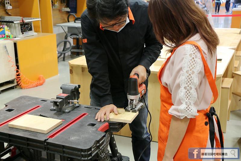 特力屋木工手作課程寵物餐桌DIY 台北文創050