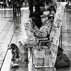 read the reader (FraVal Imaging) Tags: spain malaga street espana andalucia streetphotography andalusien bw blackandwhite spanien flickr