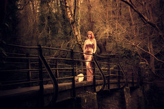 Woodland Walk (sophie_merlo) Tags: beauty redhead woods ginger wood forest red landscape model location bristol