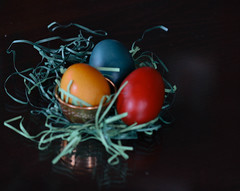 It's Easter time (boskovic_tamara) Tags: easter time family celebration egges blue yellow red green happiness holidays home canon canonofficial