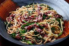 pasta-with-firefly-squid-and-wild-rocambole_160417 (kazua0213) Tags: sd quattro sigma cuisine pasta